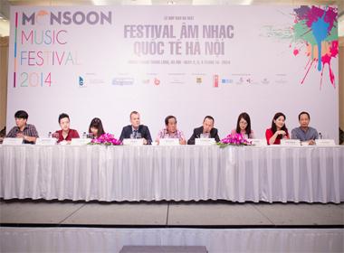 Lịch trình diễn ra Monsoon Music Festival 2014 tại Việt Nam