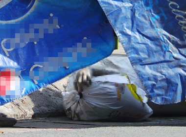 Hiện trường vụ xác người bị chặt bỏ trong 2 bao tải ở Sài Gòn