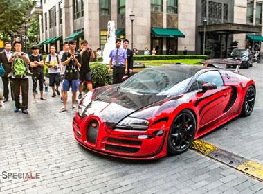 Chơi siêu xe 'ngông' như đại gia Trung Quốc