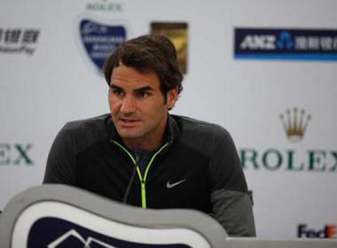 Federer tự tin hạ gục Djokovic ở Thượng Hải Masters