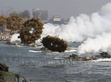 Hàn Quốc – Triều Tiên đấu pháo trên vùng biển tranh chấp