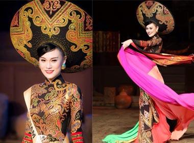Hoa hậu Quốc tế 2014: Cao Thùy Linh ấn tượng trong đêm chung kết