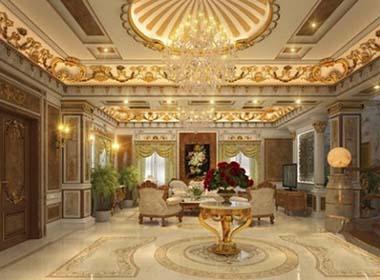 Nội thất xa hoa trong lâu đài gà vàng của đại gia Hà Nội