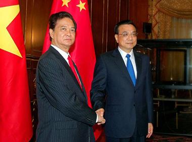 Thủ tướng Việt - Trung đề cập an ninh khu vực Biển Đông