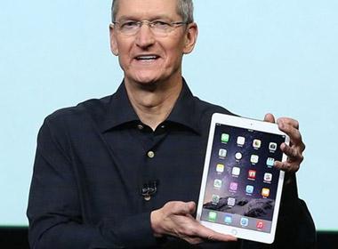 Cổ phiếu Apple giảm ngay sau khi ra mắt iPad mới