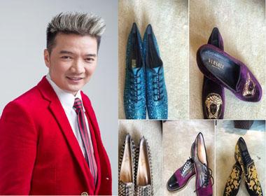 Đàm Vĩnh Hưng khoe giày hàng hiệu qua câu chuyện Tấm Cám