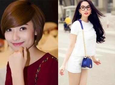 Những sao nữ showbiz Việt thay đổi chóng mặt hư - ngoan