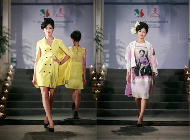 Hoa hậu biển Nguyễn Thị Loan tự tin sải bước catwalk khi làm vedette