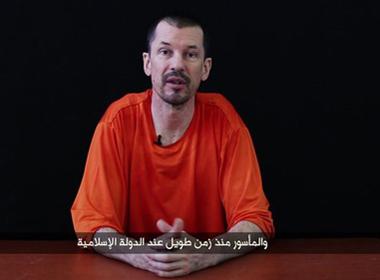 Con tin người Anh John Cantlie: 'Sắp có chiến tranh vùng Vịnh lần 3'