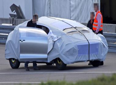 Mẫu xe bí ẩn của Mercedes-Benz?