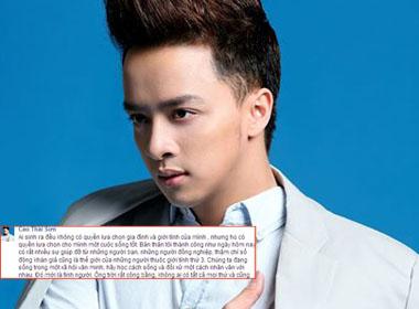 Cao Thái Sơn lên tiếng về phát ngôn của Yanbi
