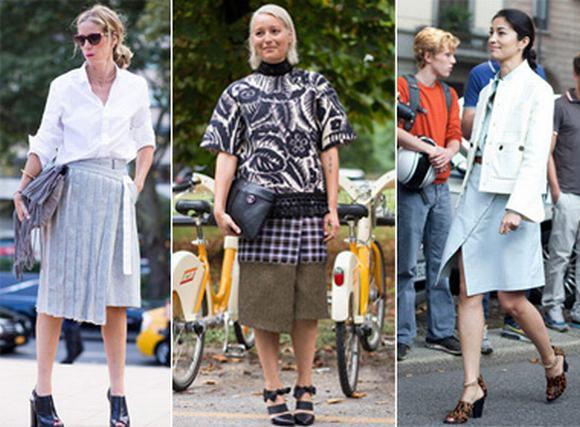 5 chân váy cách điệu cần có cho thu đông 2014