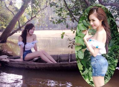 Gái một con Elly Trần muốn làm thôn nữ vườn - ao - chuồng!