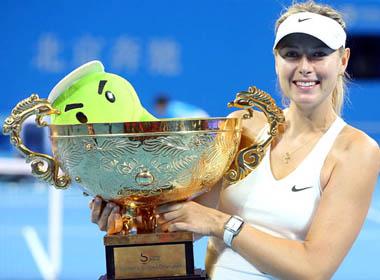 Maria Sharapova: Đợi vinh quang trở về