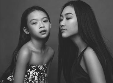 Cặp đôi cô trò Đoan Trang, Linh Hoa duyên dáng mừng ngày 20/10