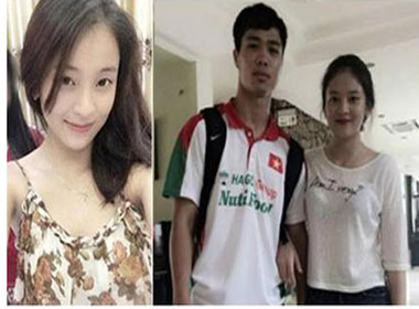 Dàn bạn gái xinh như hot girl của cầu thủ Việt