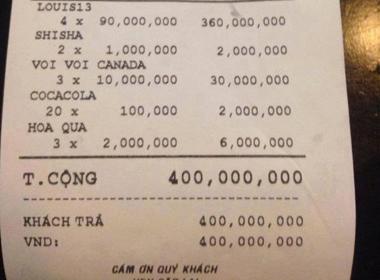 Chiều gái chảnh đi bar: Hóa đơn 400 triệu chưa dám khoe