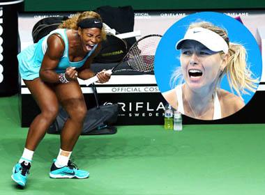 WTA Finals 2014: Sharapova sẽ giải hạn trước Serena?