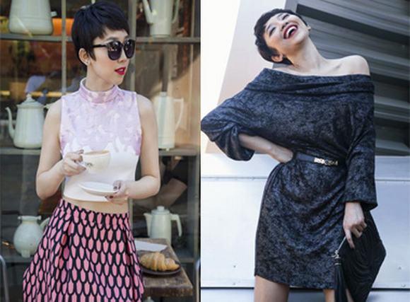 Tóc Tiên lạ lẫm trong những thiết kế thời trang mới nhất của Elise