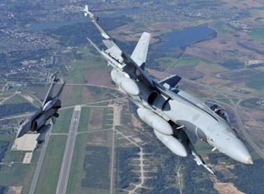 Chiến đấu cơ Nga – NATO liên tục đối đầu trên vùng Baltic