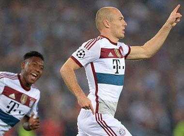 Roma 1-7 Bayern: Sức mạnh khủng khiếp