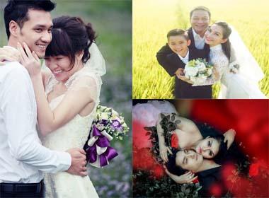 Những mỹ nhân Việt kết hôn lần hai vẫn được chồng yêu chiều