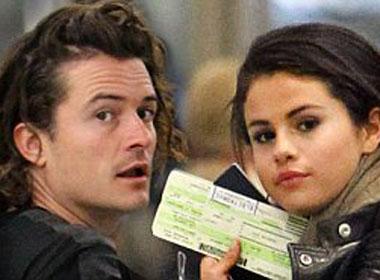 Selena Gomez bị nghi hẹn hò bí mật cùng Olando Bloom tại sân bay