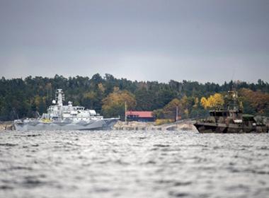 Thụy Điển sẵn sàng sử dụng vũ lực với vật thể bí ẩn dưới biển