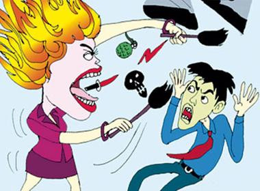 Xin ly hôn vì vợ quá hung dữ