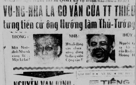 Tướng Vũ Ngọc Nhạ kể về 'Vụ án chính trị rúng động Sài Gòn'