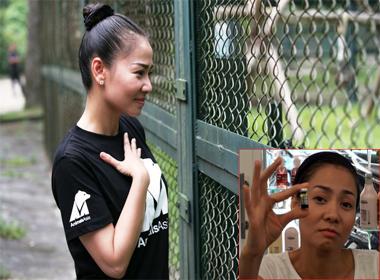 Ca sĩ Thu Minh lên tiếng về 'scandal' dùng mật gấu tươi