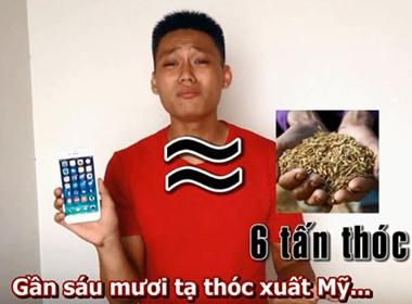 Clip 'dìm hàng' iPhone 6 Plus theo phong cách Quang Lê