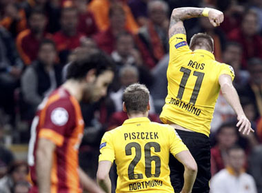 Dortmund trút giận bằng cơn mưa bàn thắng trước Galatasaray