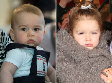 Hoàng tử George và Harper: Những em bé được yêu thích nhất ở nước Anh