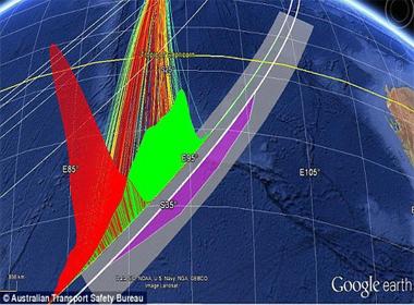 Hình dạng những đám mây có thể chỉ ra vị trí MH370