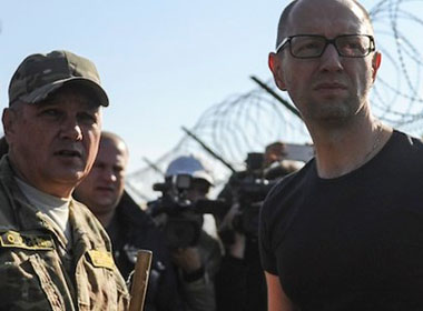 Thủ tướng Ukraine: Nga có thể sẽ phá cuộc bầu cử ngày 26/10