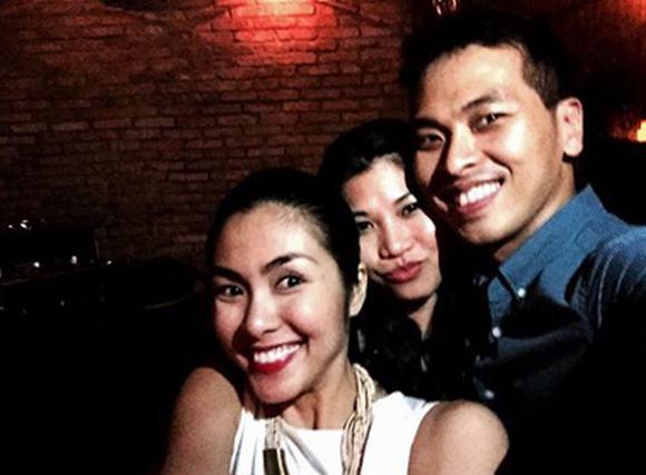 Ảnh hiếm hoi trong tiệc sinh nhật thứ 28 của Tăng Thanh Hà