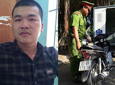 Di lý hung thủ giết ba tài xế xe ôm về Tiền Giang
