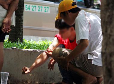 Những tình huống hoảng loạn vì con nghiện ở Sài Gòn