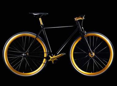 Mẫu xe đạp Gold Cycle Two mạ vàng