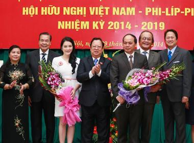 Lý Nhã Kỳ làm Ủy viên Hội hữu nghị Việt Nam - Philippines