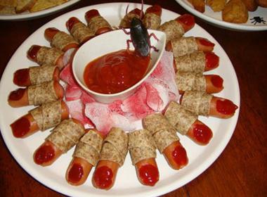 Món ăn rùng rợn cho ngày Halloween