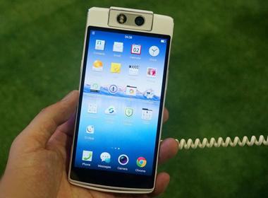 Oppo N3 ra mắt với camera 16 chấm tự xoay