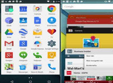 Android 'lột xác' toàn diện trên Android 5.0 Lollipop