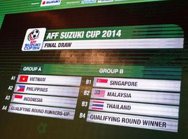 Lịch phát sóng chính thức AFF Suzuki Cup 2014 trên VTV