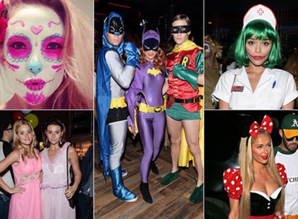 Xem sao Hollywood hóa trang thành gì trong ngày Halloween