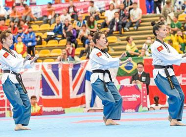 Giải quyền taekwondo thế giới: Châu Tuyết Vân và đồng đội bảo vệ chức vô địch