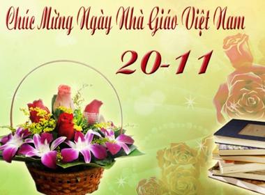Sở GD - ĐT TP.HCM đề nghị được nhận thiệp điện tử ngày Nhà giáo Việt Nam
