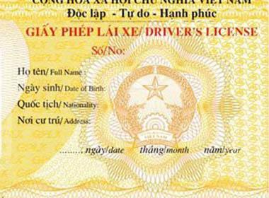 Ngày 31/12 sẽ hết hạn đổi bằng lái ôtô