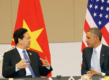 Tình hình biển Đông sáng 16/11: Tổng thống Mỹ 'An ninh châu Á không có chỗ cho sự bắt nạt'